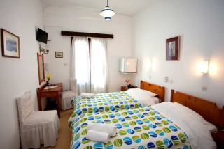 accommodation villa zacharo single beds