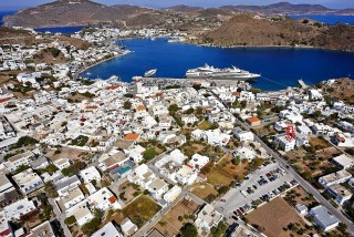 location villa zacharo patmos island