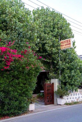 patmos-hotel-villa-zacharo-entrance
